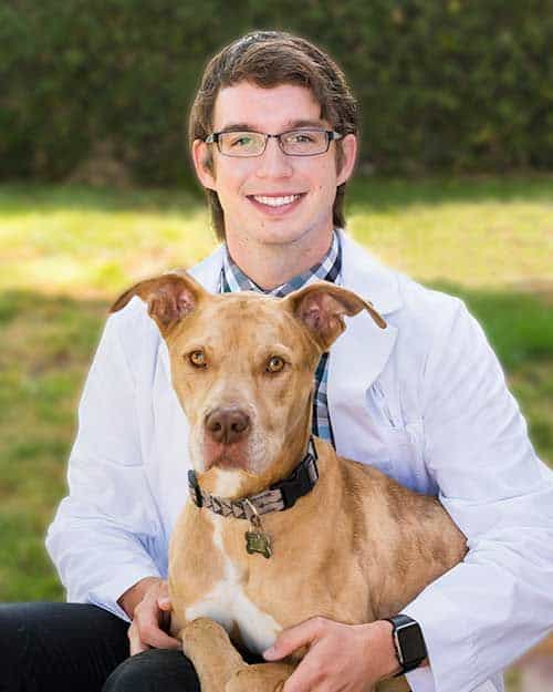 Headshot of Doctor Murphy and his friend Denver